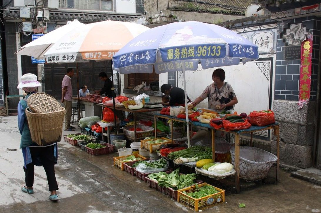 Markt in China