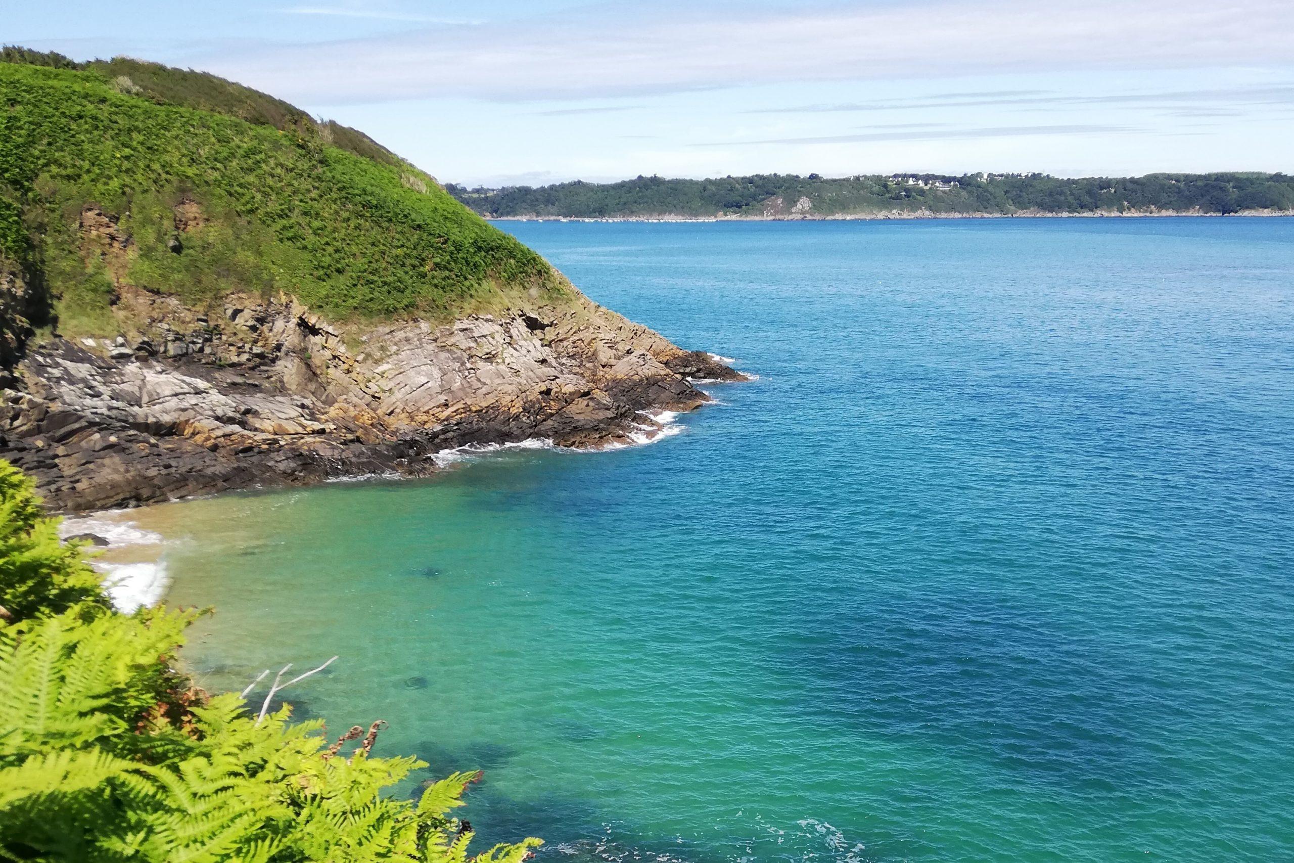 Wandelen langs de Smaragdkust in Bretagne