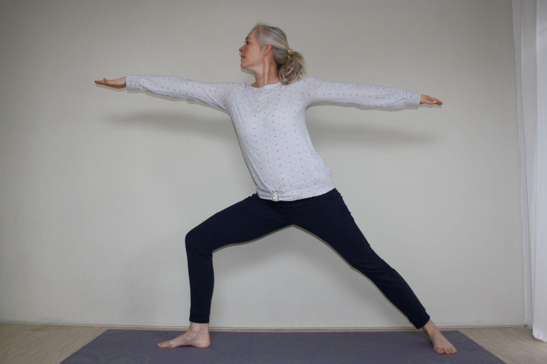 Adem in, adem uit met Flow yoga